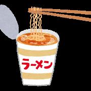 58円のカップ麺に度肝を抜かれました(^_-)-☆